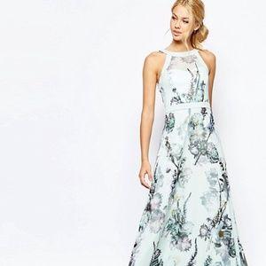 Ted Baker London Marxel Torchlit Floral Maxi Dress